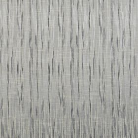 Kasan - Sky - Polyester and cotton blend fabric featuring a vertical streaking pattern in two different shades of blue-grey
