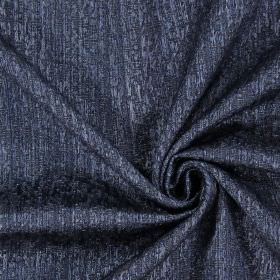 Piazza - Royal - Plain royal black fabric