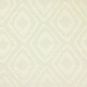 Castello - Oyster - Oyster white fabric with double diamond impression pattern