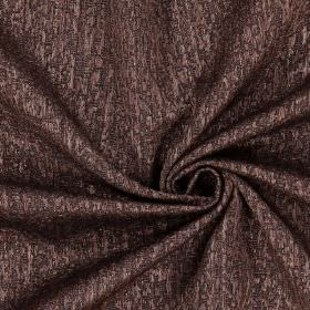 Piazza - Havana - Plain havana brown fabric