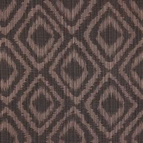 Castello - Havana - Havana brown fabric with double diamond impression pattern