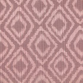 Castello - Rose Dust - Rose dust purple fabric with double diamond impression pattern