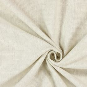 Saxon - Ivory - Swatch of woven fabric in an off-white colour