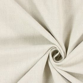 Saxon - Parchment - Woven fabric in a cream colour with no pattern