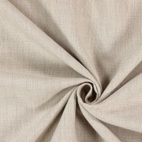 Saxon - Stone - Beige coloured unpatterned fabric