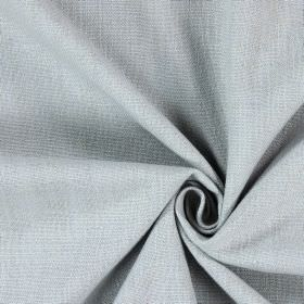 Saxon - Grey - Plain white fabric with a very slight hint of light grey