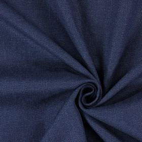 Saxon - Navy - Plain fabric which has been woven in a navy blue colour