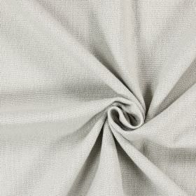 Saxon - Linen - Light grey-beige coloured unpatterned fabric