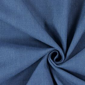 Saxon - Royal - Fabric woven in a bright shade of blue, with no pattern
