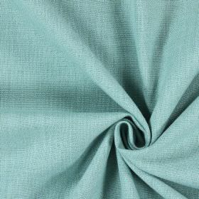 Saxon - Turquoise - Woven fabric in a light shade of duck egg blue mixed with green