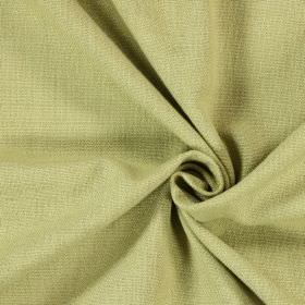 Saxon - Avocado - Swatch of woven wheat coloured fabric