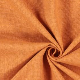 Saxon - Rust - Fabric made in a light shade of orange