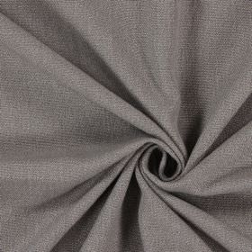 Saxon - Earth - Plain fabric woven in a dark, battleship grey colour