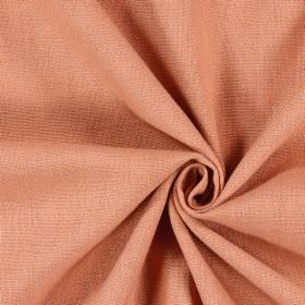 Saxon - Tangerine - Plain light salmon pink coloured fabric