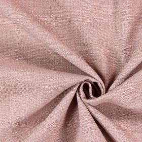 Saxon - Pumice - Very pale, dusky pink coloured fabric which has been woven with some white threads