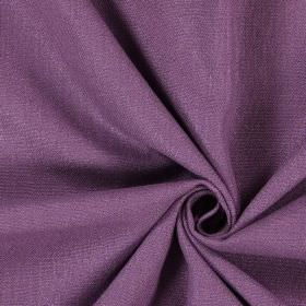 Saxon - Plum - Plain fabric in purple with a greyish tinge