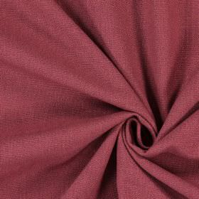 Saxon - Raspberry - Swatch of burgundy coloured fabric which has a purple tinge