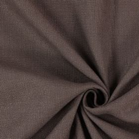 Saxon - Walnut - Dark grey coloured fabric which has been woven with some subtle white threads