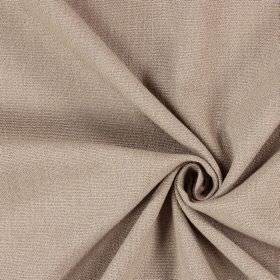 Saxon - Flax - Fabric in a light brown-beige colour