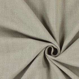 Saxon - Camel - Unpatterned light grey fabric which has a slight light brown tinge
