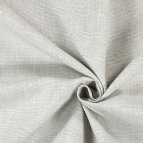 Saxon - Limestone - Plain fabric in a very light shade of grey, with no pattern or design