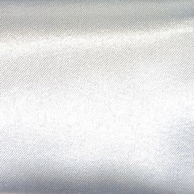 Shine - Silver - Metallic hard wearing fabric in a very pale shade of silver