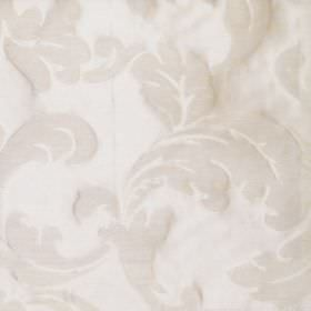 Boden - Vanilla - Vanilla white fabric with classic leaf design