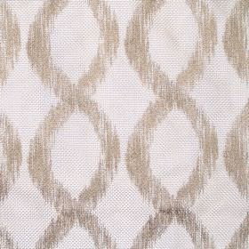 Karlstad - Vanilla - Vanilla white decorated with vertical sandy double helixes