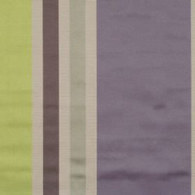 Superb - Lavender - Lightly reflective fabric with lavender purple wide stripes