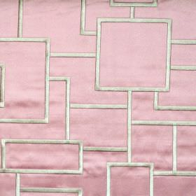 Style - Carnation - Geometric bodies on carnation pink fabric
