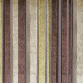 Glamour - Chardonnay - Reflective fabric with chardonnay yellow stripes