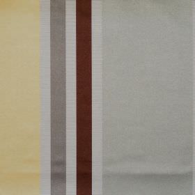 Superb - Chardonnay - Lightly reflective fabric with chardonnay yellow wide stripes