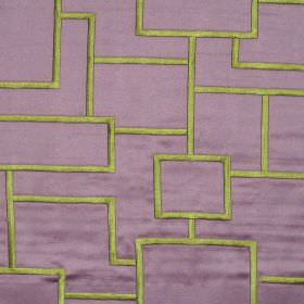 Style - Lavender - Geometric bodies on lavender purple fabric