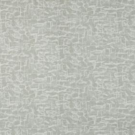 Spitalfields - Linen - Light grey coloured fabric made from 100% cotton, covered with an even paler grey-white coloured patchy, streaky fini