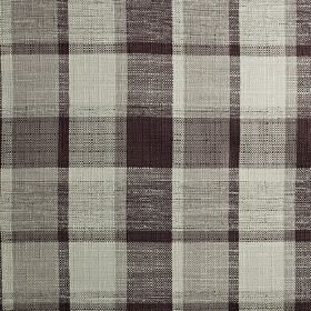 Ratio - Dubarry - Classic checks patterning polyester, cotton and viscose blend fabric, woven in black and various shades of grey