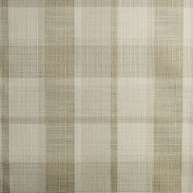 Ratio - Pearl - Several light shades of beige making up a classic checked pattern on fabric woven from polyester, cotton and viscose