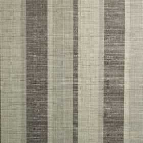 Relief - Mocha - Polyester, cotton and viscose woven together into a vertically striped fabric in various different dark shades of grey