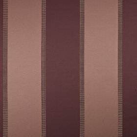 Scope - Dubarry - Luxurious vertically striped cotton and polyester blend fabric, made in dusky pink and deep wine colours