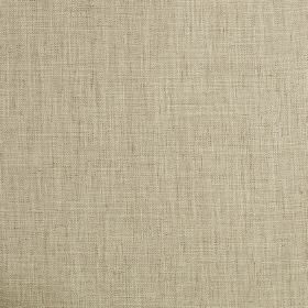 Trend - Latte - Semi-plain fabric woven from a blend of polyester, cotton, linen and polyester incream and brown shades