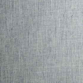 Trend - Colonial - Fabric woven from a semi-plain blend of polyester, cotton, linen and viscose, in light blue and denim blue