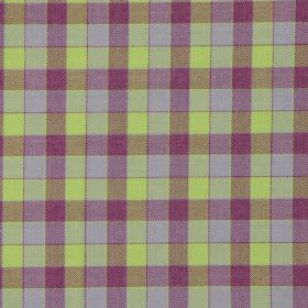Track - Foxglove - Foxglove purple and green tartan fabric
