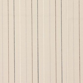 Trail - Mushroom - Sandy fabric with navy mushroom brown and colourful vertical stripes
