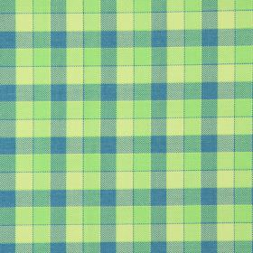 Track - Apple - Apple green and blue tartan fabric