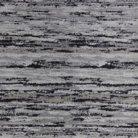 Fame - Noire - Fabric with modern noire black and grey brushstrokes
