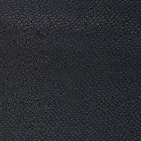 Mulholland - Noire - Plain noire black fabric with scales