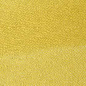 Mulholland - Saffron - Plain saffron yellow fabric with scales