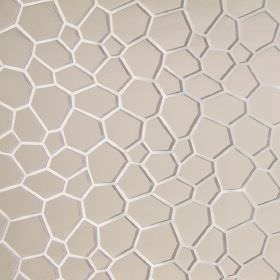 Westwood - Marble - Modern sandy fabric with marble white scales