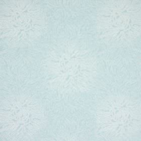 Esra - Sky - Off-white and very pale blue-grey coloured cotton fabric with a subtle but busy pattern
