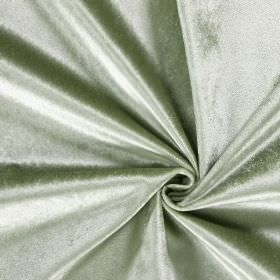Batu - Avocado - Shiny hard wearing fabric in a pale green-silver colour