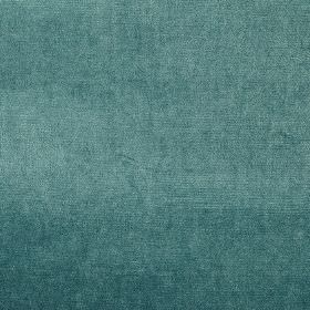 Velour - Pacific - RIch teal coloured fabric made entirely from polyester